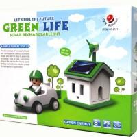 Solar Car Green Life