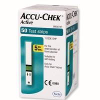 Accu Chek Active Strip Cek Gula Darah isi 50
