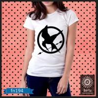 Jual T-Shirt Wanita The Hunger Games Kode : FN194