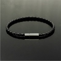 Gelang Kulit Pria Leather Bracelet Men 1