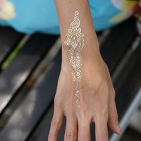 GOLDEN ASHITA - Temporary Tattoo Import
