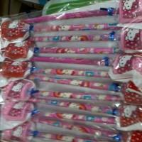 Pensil Hello Kitty Rautan Kentang