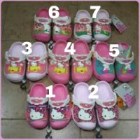 Sandal Crocs anak Karakter HK