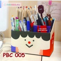 DIY Paper Pencil Box Kits Cute Girl l Organizer Alat Tulis - PBC 005