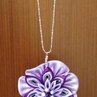 """Kalung necklace kanzashi """"Violita"""""""