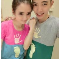 Kaos Pasangan / Baju Couple / Kembar Soulmate Tapak 8988
