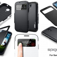 Spigen Slim Armor S-View for Samsung Galaxy S4