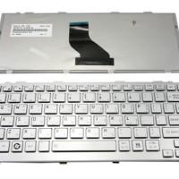 Keyboard for Toshiba Portege & Mini NB200 NB500 T110 T130 - Silver