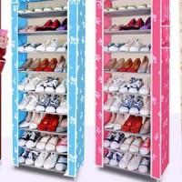 Dusk Rack Shoes Colour 10th / rak sepatu warna