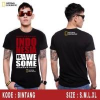 "KAOS NATGEO ""INDONESIA 3"" KEREN"