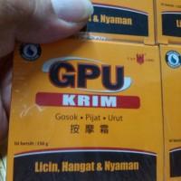 GPU krim 150g untuk gosok pijat urut