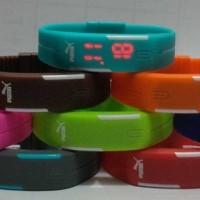 JAM Gelang PUMA TVG Digital LED Watch mirip Nike Adidas HOT Tangan