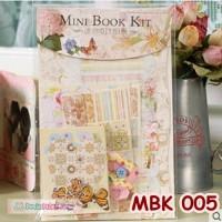 harga Diy Mini Book Kits- Scrapbook- Bahan Craft- Kado/hadiah Unik - Mbk 005 Tokopedia.com