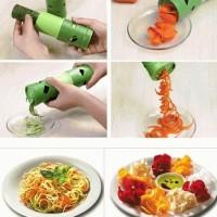 Jual veggie twister alat pengiris penghias hiasan mie sayur buah spaghetti Murah