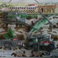 Mainan Kendaraan Army Full Shet Ekslusif