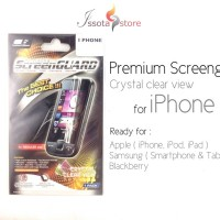 Screen Guard Apple Iphone 6 Premium Clear Depan Belakang