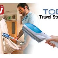 harga setrika uap tobi travel steamer baju kemeja celana jeans kerja kantor Tokopedia.com