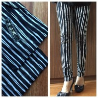 Patterned Cotton Stretch Pants - Celana 3R Panjang - Katun Motif