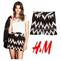 H&M Chevron Patterned Shorts - size XS