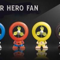 kipas angin usb unik superhero fan