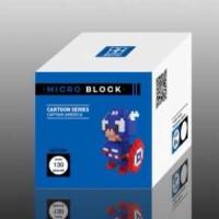 Lego Loz Diamond Nano Blocks Captain America The Avengers Marvel 9159