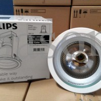 harga Philips Downlight Fbs125 C E27 White - Rumah Lampu 5