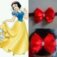 bandana bayi ala princess snow white