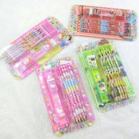 stationery set pensil warna