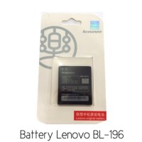 Battery Lenovo Bl-196 P700 Original 100%