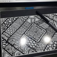 Wacom premium skin khusus intuos pen n touch medium CTH680