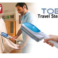 Jual setrika travelling tobi uap baju kemeja celana travel steamer Murah