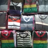 Kaos Anak, Motif Salur, Ukuran S (1-3 tahun)