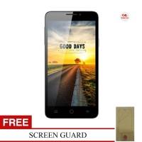 Himax Polymer X - Dual SIM - 16GB + Screen Guard, Garansi Resmi Himax