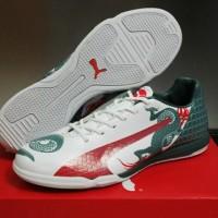 Puma Evospeed Dragon White - IC [Sepatu Futsal] [G.O Replika Import]