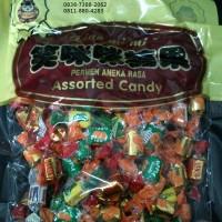 Harga permen xiao mimi assorted candy rasa apel leci lychee nanas strawberry pisang | antitipu.com