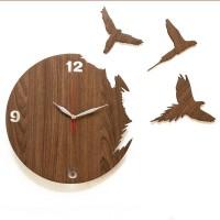 Jam Dinding Artistik - Flying Bird