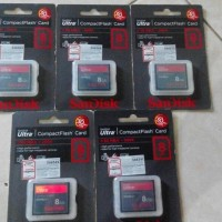 Sandisk Ultra Compact Flash CF Card 8 GB