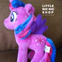 Boneka My Little Pony - Twilight Sparkle - Rattle Plush Toys