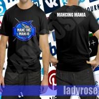 harga Baju Kaos Mancing Mania Warna Biru Tokopedia.com