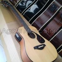 Gitar Junior JR akustik elektrik Tuner Layar