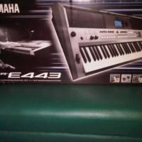 Keyboard YAMAHA E443/ E 443 + stand + cover (Garansi resmi)