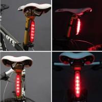 harga Lampu Senter Sepeda Police Bike Rear Light 5 Led Memanjang Tokopedia.com