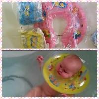 Neckring Bulat Pelampung Bayi untuk Baby Spa