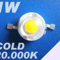 LED HPL LUXEON 1W 20.000K COLD WHITE Emitter 110-120lm Taiwan EpiSTAR