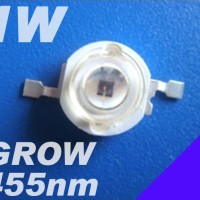 LED HPL LUXEON 1W 450-455nm GROW BLUE CORAL Emitter 25-30lm