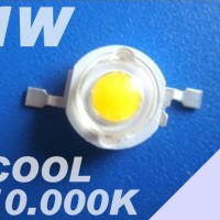 LED HPL LUXEON 1W 10.000K COOL WHITE Emitter 110-120lm Taiwan EpiSTAR