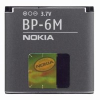 Nokia Bp-6m Original Battery For Nokia 3250 6280 6233 9300 N73 N93