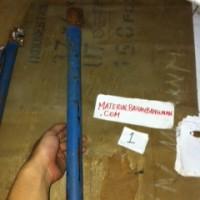 kunci besi bulat pipa kunci kuat 16 mm pembengkok besi beton