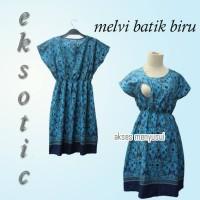 Dress Menyusui MELVI BATIK
