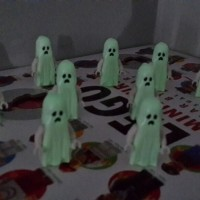 Lego minifigures glow in the dark - ghost